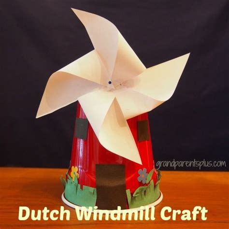 Paper Windmill Craft - windmill craft grandparentsplus