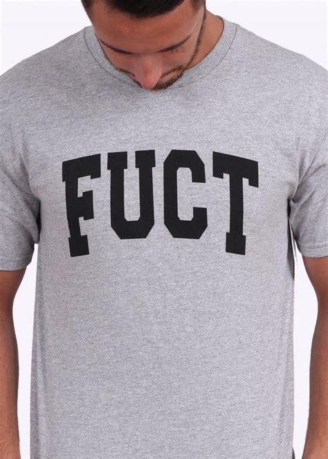 Fuct Tshirt Grey fuct academy logo grey