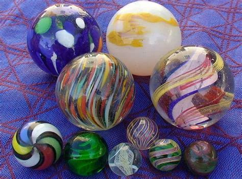 Handcrafted Marbles - marblesgalore vintage marbles and marble collecting