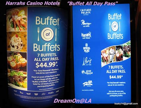 ベガスのバフェ1日券 Buffet All Day Pass Las Vegas All Day Buffets In Las Vegas