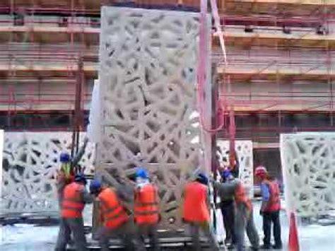 lifting the almost 3 ton gfrc youtube