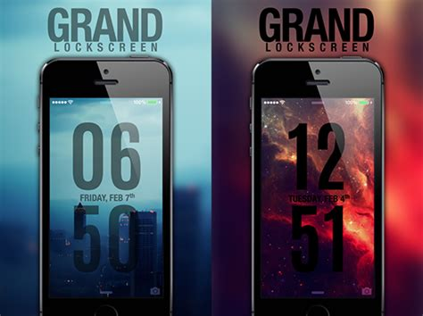 grand ls   lock screen theme  ios  video