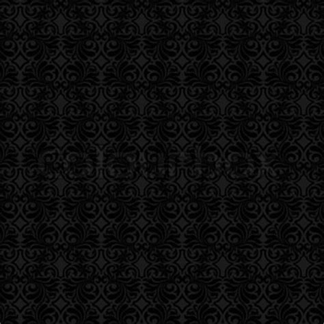 pattern black color abstract beautiful black background royal damask