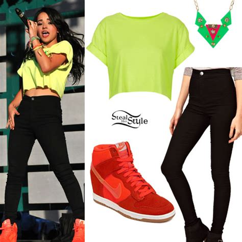 Becky G Wardrobe necesito chicas p 225 2 univision foros forums 498404578