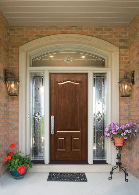 maximizing curb appeal   entry doors traditional