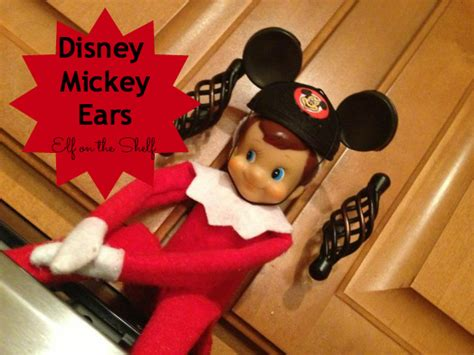 How To Make An On The Shelf by How To Make Mickey Mouse Ears For Your On The Shelf