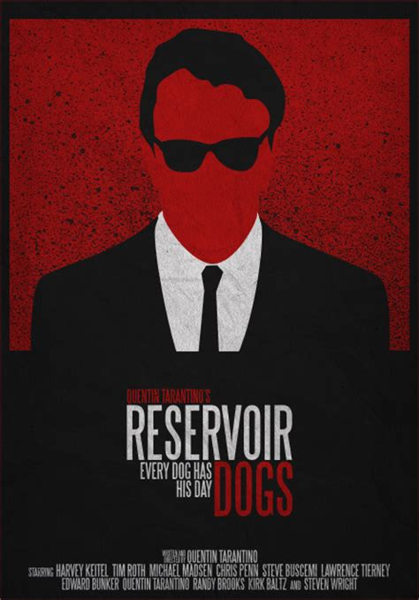 reservoir dogs poster insanely cool series of stylized poster for classic genre geektyrant