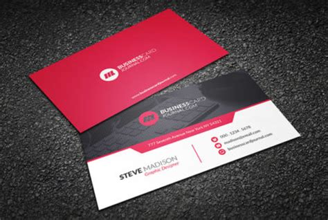 contemporary business card template free business card templates by businesscardjournal