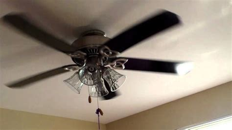 52 quot hton bay huntington ceiling fan youtube