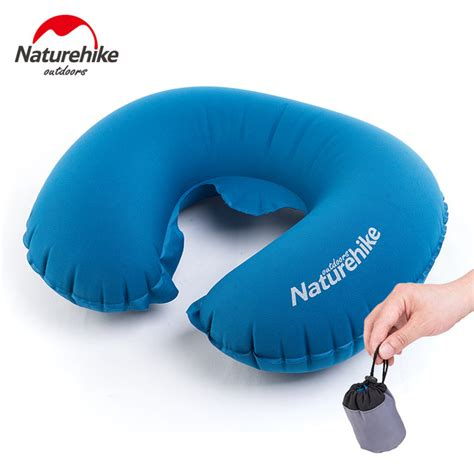 Travelling Products Pillow Air Bantal Angin aliexpress buy naturehike folding u shape air pillow outdoor travel neck