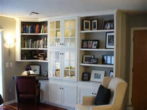 Bookshelves With Desk Built In Desk Ideas For Your Own Workspace In Home