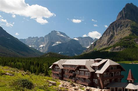 Glacier Cabins by Many Glacier Hotel By Bruce Gourley