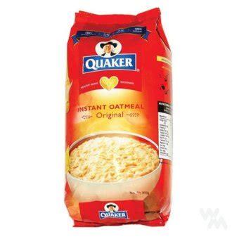 Quaker Instan Oatmeal 800g quaker instant oatmeal original 800g oats for breakfast