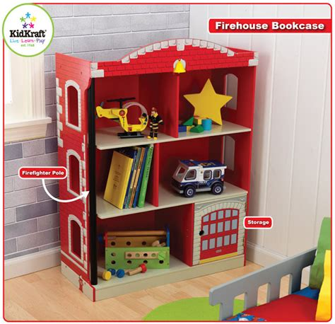 kidkraft toys furniture in stores now firehouse bookcase