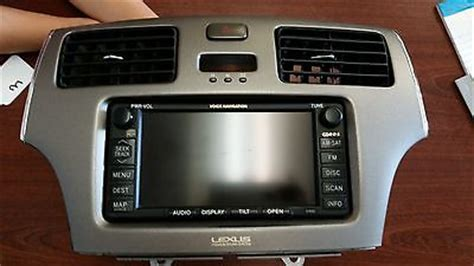 security system 2004 lexus is navigation system 2004 2005 2006 lexus es330 navigation system oem 86120 33620