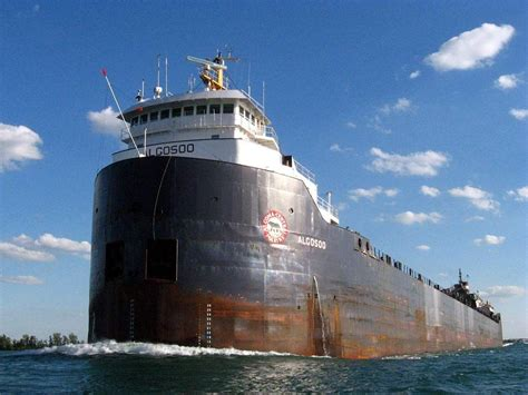 fishing boat fire port arthur algosoo up bound in the detroit river ships of the great