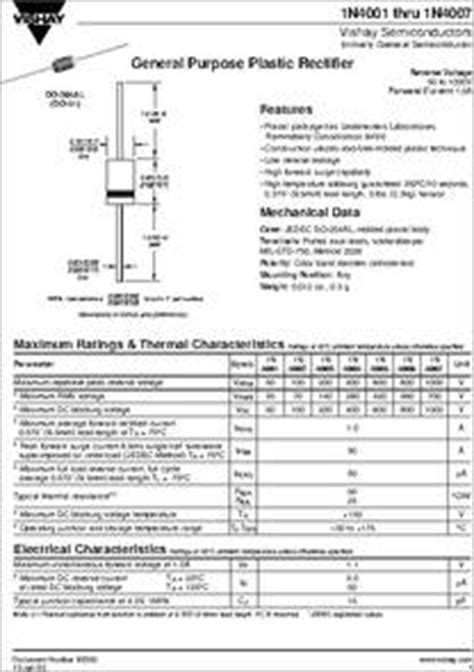 pdf diode in4004 diode in4004 datasheet 28 images 1n4004 datasheet pdf diodes incorporated in4001 pdf资料下载