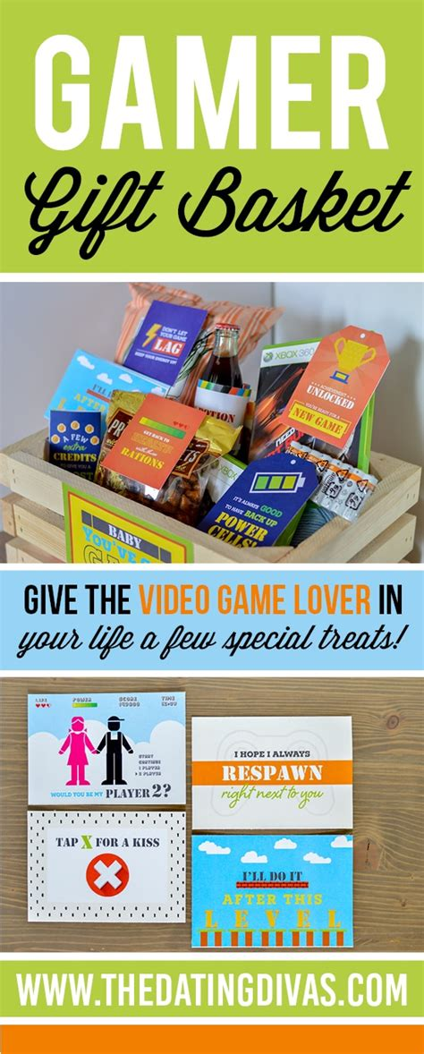 gifts for gamer gamer gift basket the dating divas