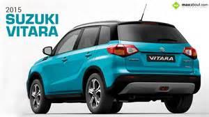 Suzuki Used Cars 2015 Suzuki Vitara Rear 3 Quarter