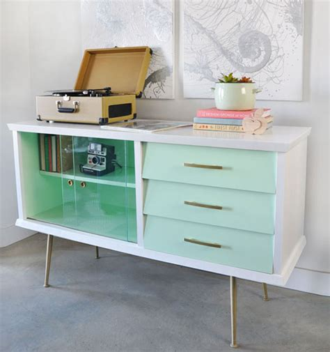 modern painted furniture before and after painted vintage sideboard visualheart