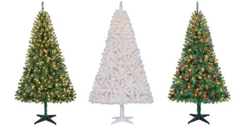 cvs christmas trees pre lit time pre lit 6 5 artificial trees only 39
