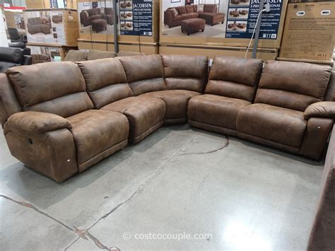 pulaski leather sofa costco pulaski springfield power reclining sectional