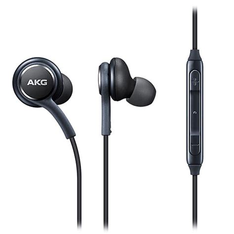 Earphone Samsung S8 Akg Black Ori New samsung eo ig955sb earphones tuned by akg black