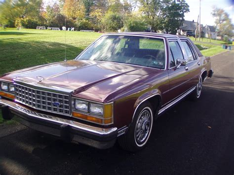 1986 ford ltd crown victoria h o youtube 1986 ford crown victoria for sale classiccars com cc 934504