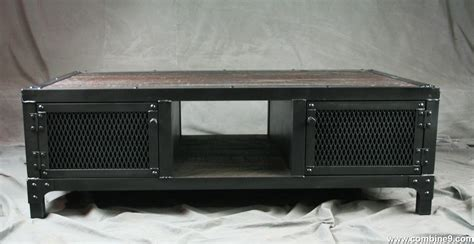 coffee table with cabinets combine 9 industrial furniture reclaimed wood coffee