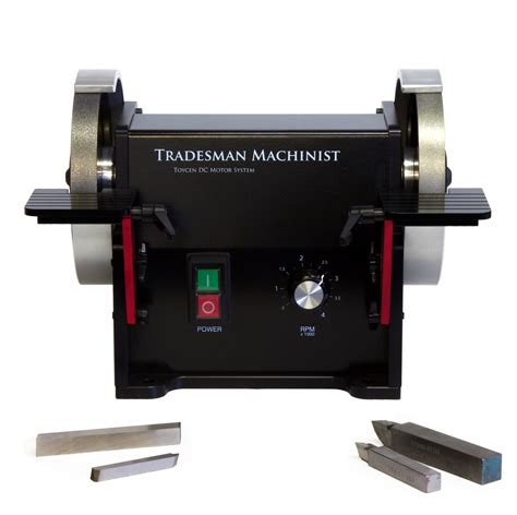 tradesman bench grinder tradesman dc bench top variable speed tool grinder