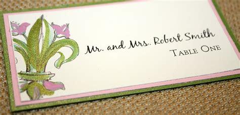 wedding small tent cards fleur de lis template fleur de lis custom wedding invitation and custom fleur de
