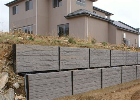 Cement Sleepers Adelaide by Creative Sleepers Concrete Sleepers Retaining Walls