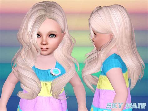 skysims hair child 188 sims 3 pinterest skysims hair toddler 248 kio sims 3 pinterest sims