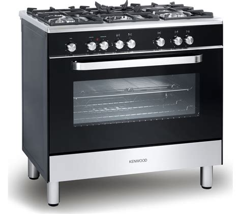 Oven Gas 1 Jutaan kenwood ck305 1 dual fuel range cooker black