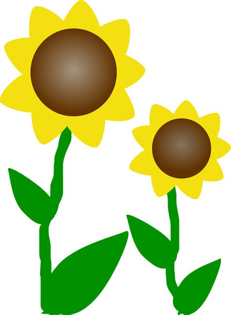 clip free printable sunflower clip free printable clipart panda free