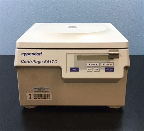 bench top centrifuge refurbished eppendorf 5417c benchtop centrifuge