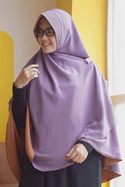 Khimar Syar I Shafira Terlaris bergo purple berry perdana ungu karamel alila khimar kerudung syar i fesya