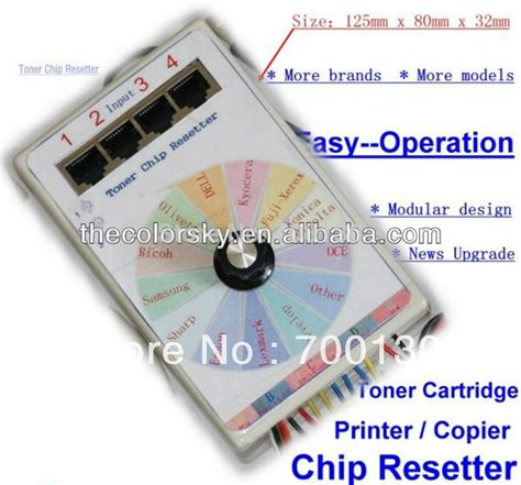resetter für brother cs v13 universal omnipotent toner cartridge chip