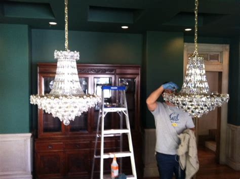 Chandelier Cleaning Services Picture