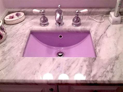 colored bathroom sinks bathroom sink refinishing porcelain sink repair