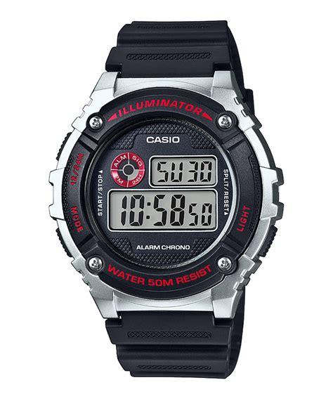 digital watches buy casio youth w 216h 1cvdf i098