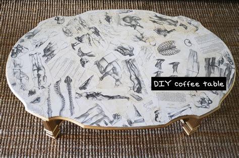 Diy Decoupage - diy decoupage coffee table furniture design tutorial