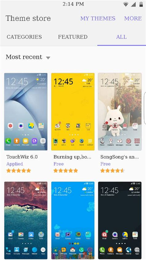samsung theme store note 4 samsung theme store ported from note 5 marsh samsung