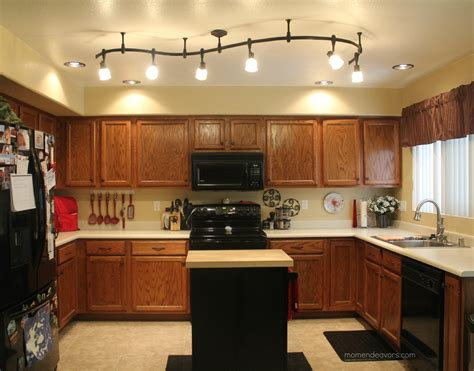 lighting for the kitchen mini kitchen remodel new lighting makes a world of