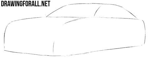 how to draw a dodge challenger drawingforall net how to draw a dodge charger step by step drawingforall net