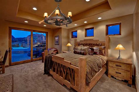 western bedroom design