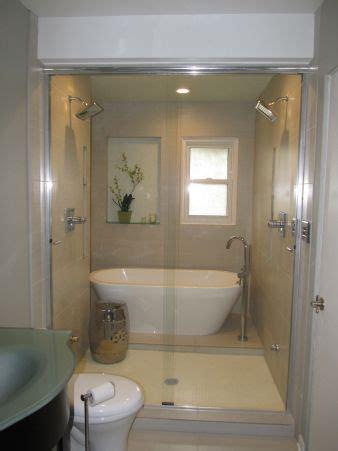wet bathtubs wet room shower and tub together bathroom pinterest
