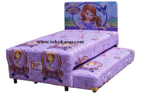 Kasur Bed Merk Quantum big 2in1 sofia toko kasur bed murah simpati furniture