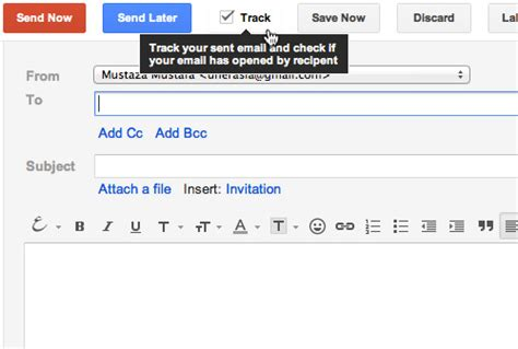 how to your to track how to track if your sent email has been opened in gmail hongkiat