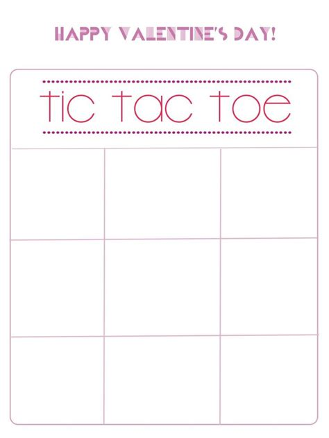 7 Best Images Of Printable Valentine Tic Tac Toe Boards Valentine Tic Tac Toe Printable Tic Tac Toe Template Printable
